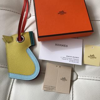 Hermes - 【新品未使用】エルメス カマイユ チャーム 馬 キーホルダー キーリング