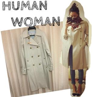 ヒューマンウーマン(HUMAN WOMAN)のHUMAN WOMAN トレンチコート(トレンチコート)