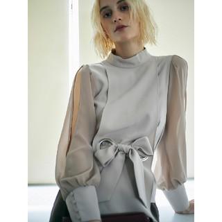 Ameri VINTAGE - アメリヴィンテージ apron lady blouse
