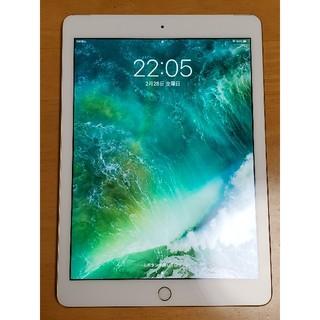 iPad - iPad 第5世代 SIMフリー 32GB セルラーモデル ゴールド ケース付き