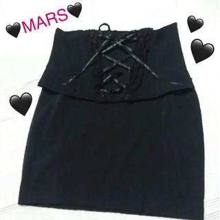 MA*RS - MARS マーズ レースアップコルセット風ミニスカート