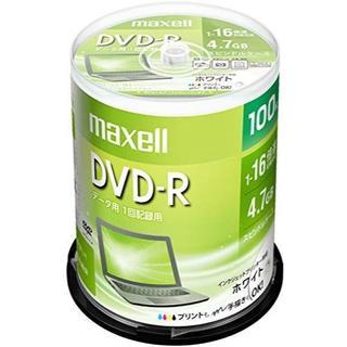 maxell データ用 DVD-R 4.7GB 1-16倍速 プリンタブルホワイ