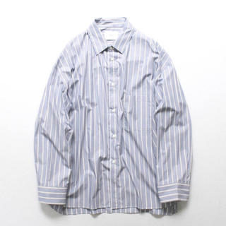 SUNSEA - stein Oversized Down Pattern Shirt ストライプ