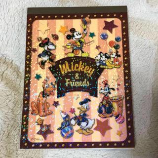 Disney - ディズニーメモ帳⭐️ミッキー&フレンズメモ