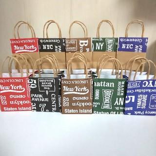 ハンドメイド 紙袋 ミニ*(カード/レター/ラッピング)