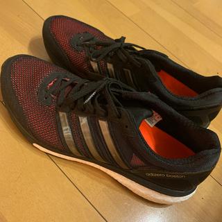 アディダス(adidas)の美品adizero booston ランニングシューズ(ランニング/ジョギング)