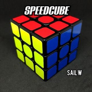スピードキューブ 立体 6面 競技 パズル 送料無料 ルービックキューブ SW