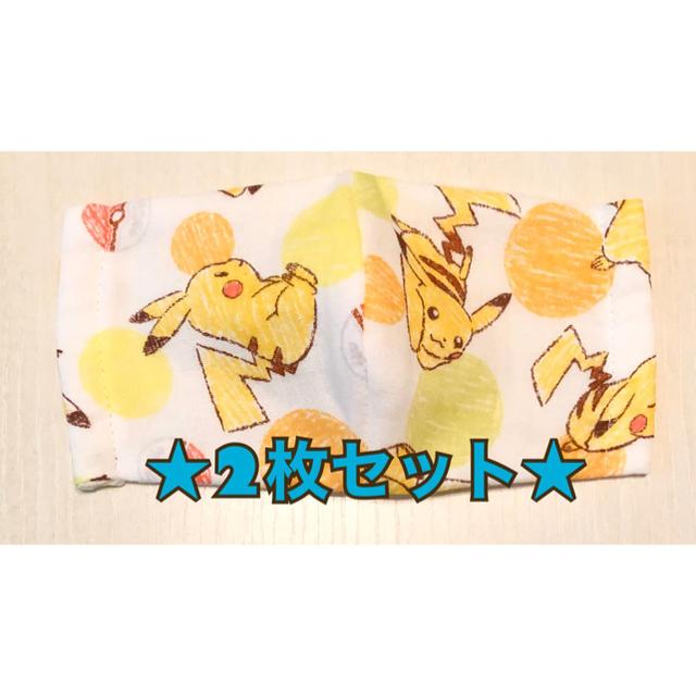 防塵マスク 種類 / ピカチュー★ハンドメイド子供用立体マスク 2枚セットの通販 by トワイライト's shop