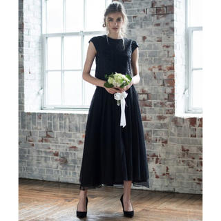 GIRL - チュール刺繍ブラウス&オーガンジーボリュームスカートセットアップ 結婚式 二次会