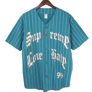 Supreme - SUPREME  19AW Love Hate Baseball Jersey