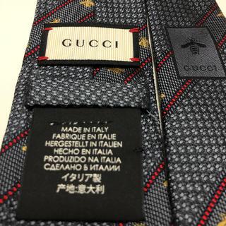 Gucci - グッチ(GUCCI)  BEEハニービー蜂柄デザインネクタイ