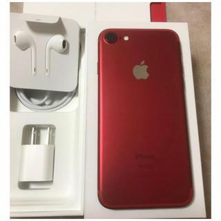 Apple -  iPhone7 128GB red  SIMフリー【超美品】