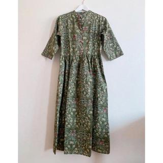 Brand New India blockprint cotton dress