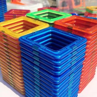【超人気★数量限定】新品未使用未開封品★大容量46個★磁石ブロックマグネット
