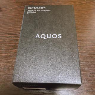 SHARP - 明日まで値下げ!AQUOS R2 compact SH-M09 SIMフリー