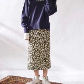 Ungrid - Ungrid レオパードスカート