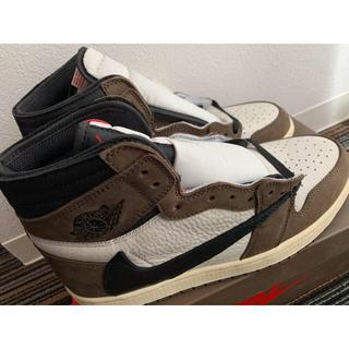 NIKE - Nike Air Jordan 1 Travis Scott 27.5