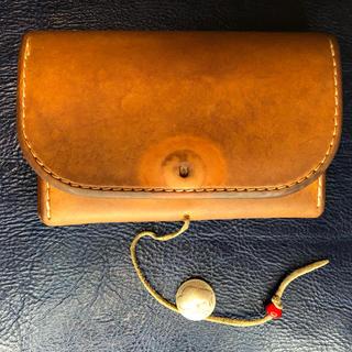 ゴローズ(goro's)のゴローズ財布 中財布 赤茶色(財布)