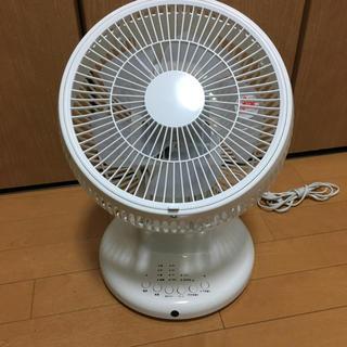 サーキュレーター 電響社 ホワイト リモコンなし(扇風機)