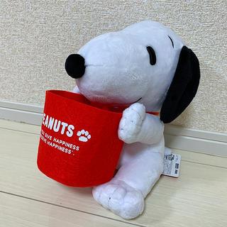 PEANUTS - 【新品】SNOOPY スペシャル小物入れ付ぬいぐるみ