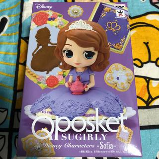 Disney - Qposket SUGIRLY ソフィア フィギュア