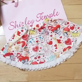 Shirley Temple - 新品 シャーリーテンプル アンティークハートpt スカート 100