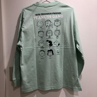 GU - ジーユー ロングスリーブT ピーナツ スヌーピー  Tシャツ ロンT GU 完売