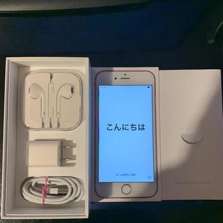 Apple - docomo iphone6s 64GB ローズゴールド SIMフリー