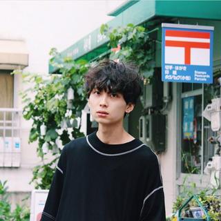 ジエダ(Jieda)のJieDa MOC NECK T-SHIRT ホワイト(Tシャツ/カットソー(半袖/袖なし))