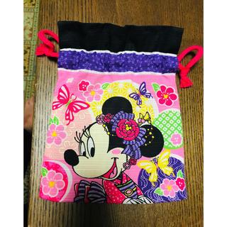 Disney - ミニー巾着袋