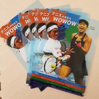 6枚セット 大阪なおみ 錦織圭 クリアファイル テニス wowwow(スポーツ選手)