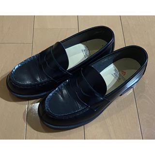 ハルタ(HARUTA)のHARUTA ハルタ 4814 ローファー 黒 ブラック サイズ21cm 3E(フォーマルシューズ)