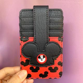 Disney - WDW♡ディズニー♡ミッキー♡イヤーハット♡カードケース♡パスケース