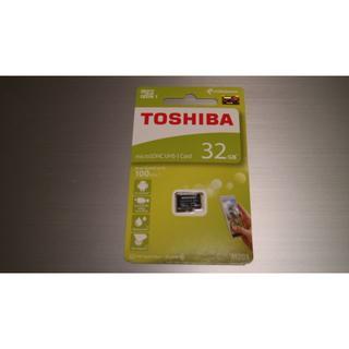 東芝 マイクロSDカード 32GB(その他)