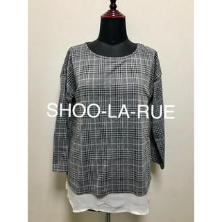 SHOO・LA・RUE - SHOO-LA-RUE  チェックプルオーバー