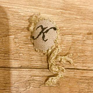 ネストローブ(nest Robe)のリネン刺繍ピアス♡値下げ❣️(ピアス)