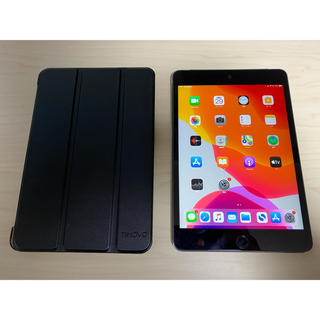 Apple - SIMロック解除済 iPad mini 4 128GB スペースグレイ ケース付