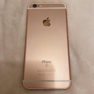 Apple - iPhone6s rose gold 64G 本体 美品