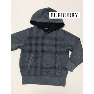 BURBERRY - バーバリー BURBURRY パーカー 美品 120