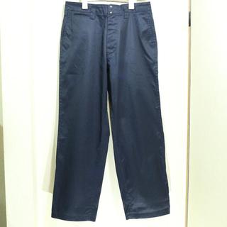 ナナミカ(nanamica)のnanamica ナナミカ チノパン wind wide pants ネイビー(チノパン)