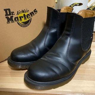 ドクターマーチン(Dr.Martens)のドクターマーチン ブラック サイドゴア UK6 2976(ブーツ)