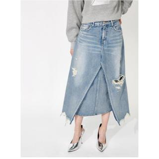 moussy - LAYERED スカート