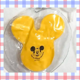 Disney - 【即発送】ディズニー ミッキー 風船 バルーン キーホルダーカプセル無 イエロー