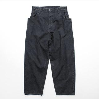 SUNSEA -  stein  EX Wide Hooked Denim Jeans