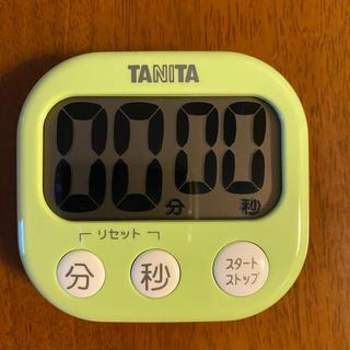 タニタ(TANITA)のタニタ キッチンタイマー 取扱説明書・電池付き(その他)