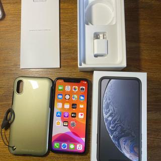 iPhone - 岩木様専用 iPhone XR black 128GB SIMフリー