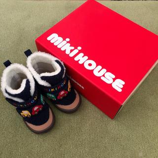 ミキハウス(mikihouse)のミキハウス 冬靴13センチ(ブーツ)