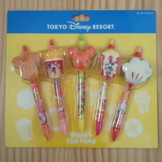 Disney - ディズニーフード ボールペンセット