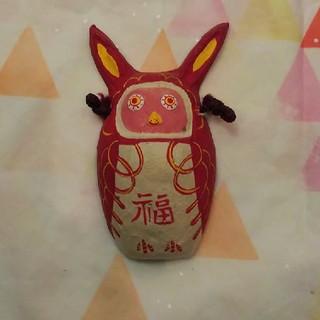 ムジルシリョウヒン(MUJI (無印良品))の福缶 赤みみずく(その他)