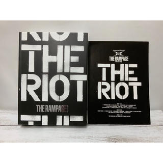 THE RIOT CD+DVD2枚組 THE RAMPAGE(ミュージック)